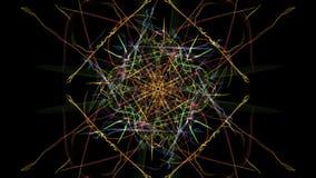Luce simmetrica astratta illustrazione vettoriale