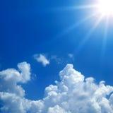 Luce solare Immagini Stock Libere da Diritti