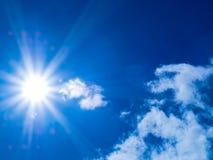 Luce solare Immagine Stock