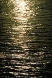 Luce solare in acqua Fotografia Stock Libera da Diritti