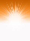 luce solare arancione Immagine Stock
