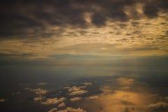 Luce solare a colori il colore caldo Fotografia Stock Libera da Diritti