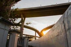 Luce solare dal sole. Fotografia Stock