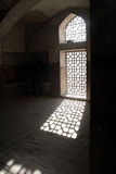 Luce solare in finestra Fotografia Stock