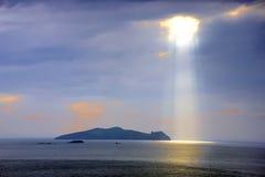 Luce solare L1497 Fotografie Stock Libere da Diritti