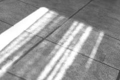 Luce solare sul pavimento Fotografie Stock Libere da Diritti