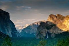 Luce solare in Yosemite Fotografie Stock