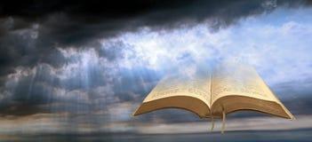 Luce spirituale celeste fotografie stock