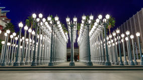 Luce urbana, Los Angeles immagine stock
