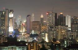 Luce variopinta nella vicinanza di Bangkok Fotografia Stock Libera da Diritti