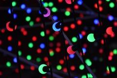 Luce verde blu rossa Fotografia Stock Libera da Diritti