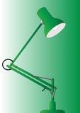 Luce verde chiaro Immagine Stock