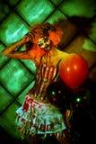 Luce verde dell'inferno fotografie stock libere da diritti