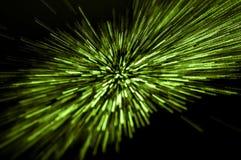 Luce verde procedente senza difficoltà Immagine Stock