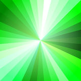Luce verde Ray Abstract Background illustrazione vettoriale