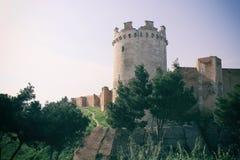 Lucera城堡 免版税库存图片