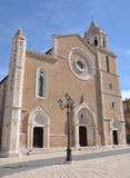 Lucera Cathedral Stock Photo