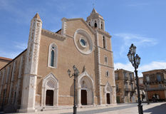 Lucera Cathedral Royalty Free Stock Photo