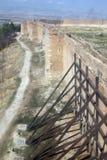 Lucera medieval walls Stock Photo