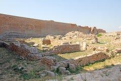 Lucera-Ruinen Stockbild