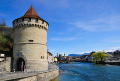 Lucern tower. Stock Photo