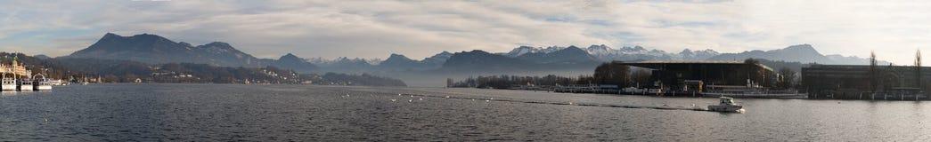 Lucerna, capitale del cantone di Lucerna, Svizzera centrale, Europa Fotografia Stock Libera da Diritti
