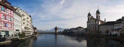 Lucerna, capitale del cantone di Lucerna, Svizzera centrale, Europa Fotografie Stock