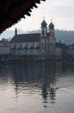 Lucerna, capitale del cantone di Lucerna, Svizzera centrale, Europa Fotografia Stock