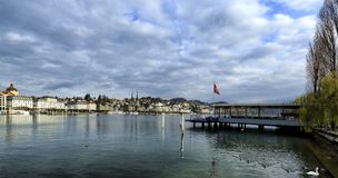 Lucerna em Suíça Imagem de Stock Royalty Free