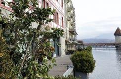 Lucerna em Suíça Fotos de Stock