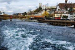Lucerna em Suíça Fotos de Stock Royalty Free