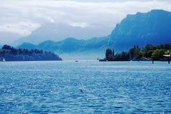 Lucerna jezioro Obraz Stock