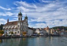Lucerna, Suiza Fotografía de archivo