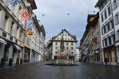 Lucerna in Svizzera Fotografia Stock