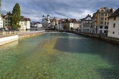 Lucerna in Svizzera Immagine Stock