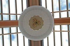 lucernario ambientale di vetro del tetto fotografie stock libere da diritti