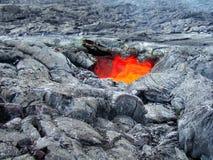 Lucernario della lava Fotografie Stock