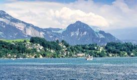 lucerne Швейцария озера Стоковое Изображение