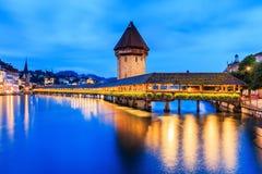 lucerne Швейцария Стоковая Фотография