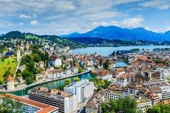 lucerne Швейцария Стоковое Изображение RF