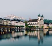 lucerne Швейцария Стоковые Фото