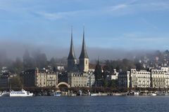 Lucerne in autumn Royalty Free Stock Photo
