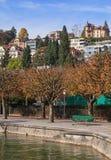 Lucerne, autumn cityscape Stock Photos