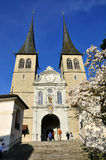 Lucerne cathedral. Stock Images