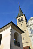 Lucerne cathedral. Royalty Free Stock Image