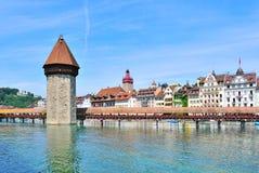 Free Lucerne, Chapel Bridge Stock Images - 32208594