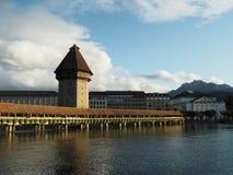 Lucerne Chapel Bridge, Kapellbrücke royalty free stock photography