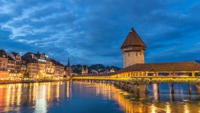 Lucerne Time Lapse stock video footage