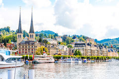 Lucerne city in Switzerland Stock Images