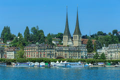 Lucerne cityscape Royalty Free Stock Photo